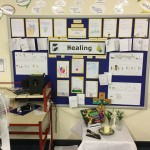 Year 6's Healing Display.