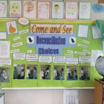 Year 3's Reconciliation Display.