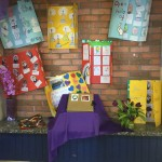 Year of Mercy Display at the entrance of our school.