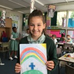 Rose was one of the winners of our Easter Art Competition - congratulations!